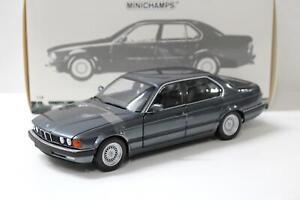 1:18 Minichamps BMW 730i (E32) Limousine 1986 grey metallic