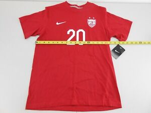 Nike Team USA Wambach #20 Red T-shirt Boys Large (G3)
