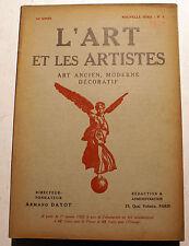 ART DECO/L'ART ET LES ARTISTES/1920/N°5/PEINTURE NORVEGIENNE/M DE LAMBERT/DANSE