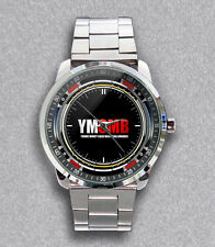 New YMCMB Lil Wayne Young Money Stainless Steel Metal Watch