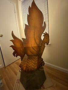 Phoenix Statue CBS Survivor Caramoan Fans v. Favorites