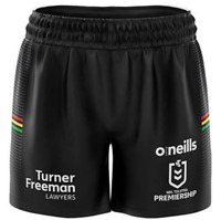 Penrith Panthers 2021 On Field Players Home Shorts Sizes Small - 7XL NRL oneills