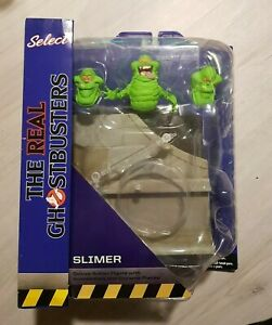 The Real Ghostbusters Diamond Select Figur Slimer Action Figure New Mint MOC OVP