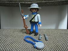 Playmobil - Special 4622 - Western Oeste - Oficial Soldado Sudista - (COMPLETO)