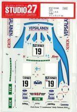 STUDIO27 1/24 FOCUS WRC FIM Finland '00 for TAMIYA DC380 Rally car decal