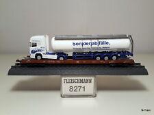 """Fleischmann N 8271 + 066181 - RoLa Saadkmms 890 intermedio DB + TIR """"Ast Birrer"""""""