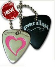 Grover Allman Guitar Pick Necklaces - Heart