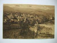 Ansichtskarte Loffenau um 1910? Total Neues Schulhaus