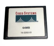 Genuine Cisco 64 MB CF Compact Flash Memory Card 1841 2801 2811 2821 2851 3745
