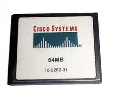 Genuine Cisco 64 MB CF Compact Flash Memory Card 1841 2801 2811 2821 2851 3745