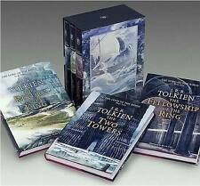 XLG BOXED SET ~ JRR Tolkien ~ LORD OF THE RINGS ~ Alan Lee Illus ~ 3 VOLUMES HC