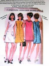 NG Creations Sewing Pattern 1967 Three Armhole Dress fits Barbie Tammy Dolls