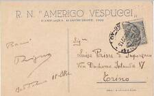 A7068) R. NAVE AMERIGO VESPUCCI CAMPAGNA ISTRUZIONE 1922. PREGHIERA MARINAIO. VG