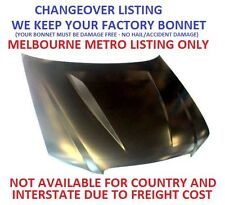 Ford Falcon BA BF XR8 Turbo Bonnet Hood with Hump CHANGEOVER we keep your bonnet