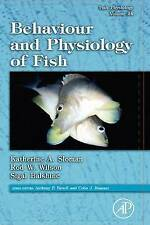 NEW Fish Physiology: Behaviour and Physiology of Fish, Volume 24