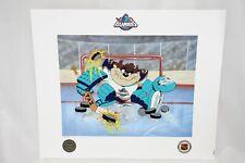 McKimson WARNER BROS NY Islanders Devil of a Save NHL Hockey Taz Litho Art