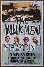 The Walkmen 2006 Gig Poster Portland Oregon Concert