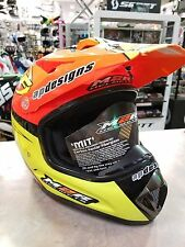 M2R FMF REPLICA HELMET, ORANGE