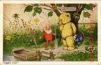 AK Künstlerkarte, Künstler Fritz Baumgarten, Ob ich's Wage,  24/05