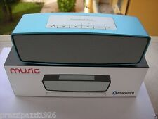 CASSA SPEAKER PORTATILE BLUETOOTH STEREO + VIVAVOCE ricaricabile iphone  pc ipod