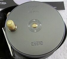 """Hardy Bros. Wide Spool Perfect 4"""" Fly Reel $795 Retail NEW"""