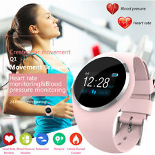 Girls Sport Bluetooth Smart Watch Phone Mate Remote Camera for iPhone LG Android