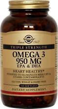Solgar Triple Strength Omega-3 950mg 100 Softgels