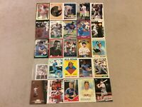 HALL OF FAME Baseball Card Lot 1978-2020 REGGIE JACKSON BROOKS ROBINSON TY COBB+