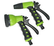 7 funzioni UGELLO Spray Pistola TUBO DA GIARDINO VAPORIZZATORE ACQUA Trigger raccordo del tubo 2PC