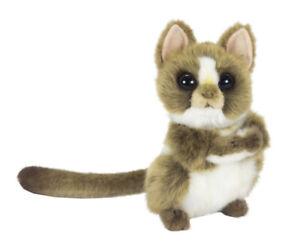 Hansa Tarsier Monkey [15cm] Turning Head Soft Plush Stuffed Animal Toy NEW