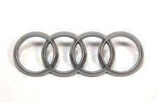 OEM Engine Cover Emblem Logo + FREE retainers Audi A1 A3 A4 A5 A6 A8 4H0103940A