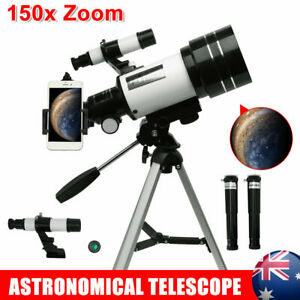 Astronomical Telescope With Tripod 150x Zoom HD Outdoor Monocular 70mm Aperture