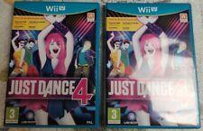 Just Dance 4 - jeu Nintendo WIIU Wii U / Speel / Spiel / Game