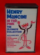 HENRY MANCINI:  'IN THE PINK' THE ULTIMATE COLLECTION:   CASSETTE TAPE SET (2)
