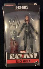Marvel Legends Black Widow Wave Black Widow Figure  with BAF Crimson Dynamo