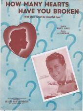 How Many Heart Have You Broken, 1943, Eddy Howard