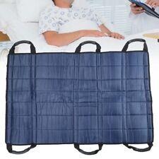 Positioning Bed Pads with 6 Handles, Patient Sheet for Lifting Transfers Turning
