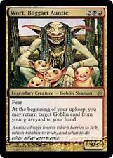 WORT, BOGGART AUNTIE Lorwyn MTG Gold  Creature — Goblin Shaman RARE