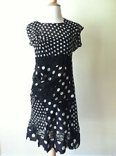 Comme Des Garcons Junya Watanabe Polka Dot Dress - Size S