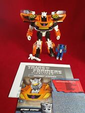 Botcon 2015 Transformers Cybertron Most Wanted STEPPER With Targetmaster