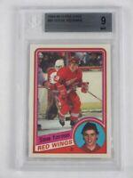 BGS 9 w/3 9.5 Steve Yzerman Rookie 1984-85 OPC O-Pee-Chee #67 Detroit Red Wings