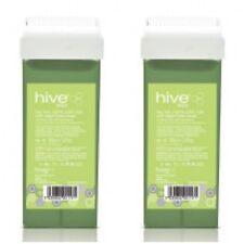 X 2 Hive OF Beauty Tea Tree Creme cera a rullo Cartuccia Con Grande Testa Fissa 100 G