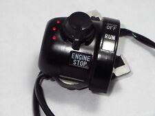 Yamaha RD125 B C Switch Handle 1 OEM 75-76 Run Stop 507-83976-00 NEW Start NOS
