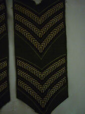 1960's Cadet Sergeant's Stripes Embroidered Cloth - Pair