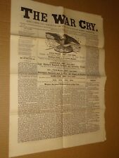 1883 Salvation Army War Cry Newspaper June 21