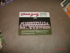 "1987 Nashville Sounds(Reds Minor League Team)8 1/2"" x 11"" Photo Baseball Team"