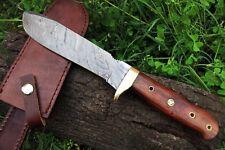 DKC-518 BUSH MASTER Damascus Tanto Bowie Hunting Handmade Knife Fixed Blade 14 o