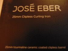 JOSE EBER *PRO* Series Curling Iron 25 mm - NEW IN BOX!!! Retail: $75.00 Pink