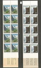 Norway SC # 677a-678a The Pulpit, Lyse Fjord, Gulleplet Sogne Fjord.  MNH