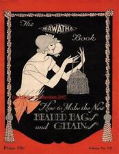 1924 Hiawatha # 7 Book of Beaded Bags & Chains on CD